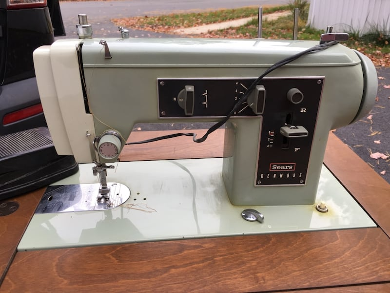 Used Antique Sears Kenmore Sewing Machine For Sale In