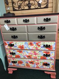 Funky Floral Dresser / Chest Cape Coral, 33904