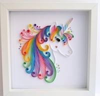Unicorn wall art personalized with custom text Guilderland, 12084