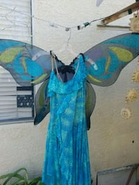 Butterfly sequins dress , adult halloween custome  Anaheim, 92805