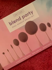 NEW never used makeup brush set