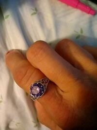 silver and purple gemstone ring Carmichael, 95608