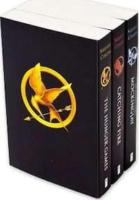 Hunger games series for sell 786 km