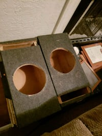 "2xs 8"" speaker boxs (homemade) Mineral, 23117"