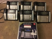 black and gray IP telephones Santa Ana, 92701