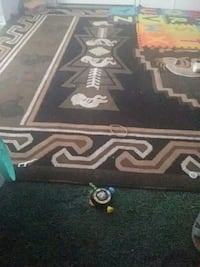 black and white area rug 2346 mi