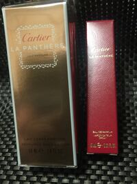 Cartier La Panthere Perfume and Body Lotion Vancouver, V5V 2X8