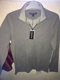 Michael Kors Mens Sweater Heather Gray Size Small S 1/2 Zip Pullover Albuquerque, 87105