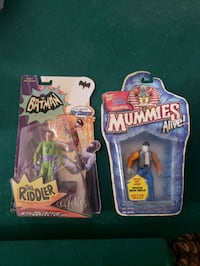action figures sealed