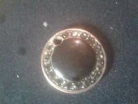 silver diamond studded ring in box Kansas City, 64131