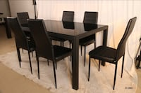 Dining table chair set clearance sale Toronto, M3N 1H4