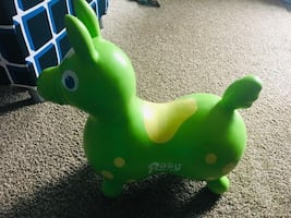 Rody horse toy green