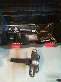 Trailer Hitch, Sway Bars (with brackets) and Stabilizer Bar (new)