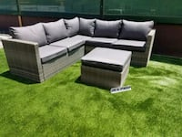 New outdoor wicker sectional set with ottoman pati Chula Vista, 91913