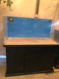 40 gallon acrylic aquarium fish tank with stand West Covina, 91791
