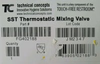 New in box thermostat temperature adjustable water Woodstock, 22664