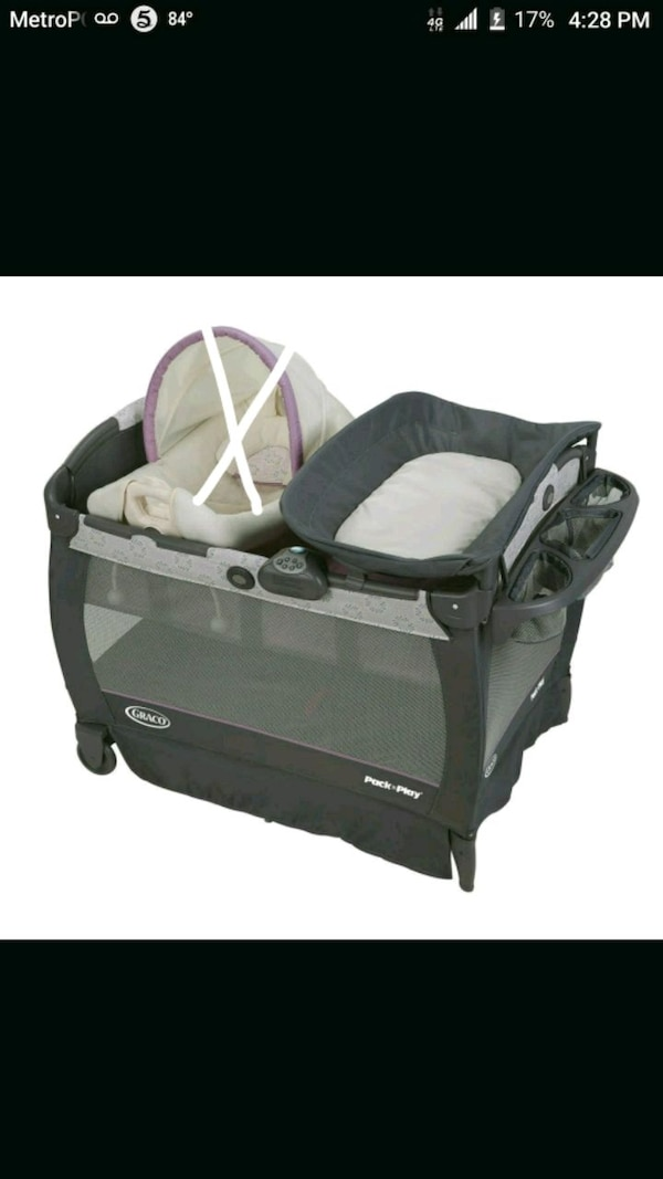 4f897341770d1 Used Baby girl pack amd play for sale in Conyers - letgo