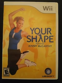 Nintendo Wii Your Shape Jenny McCarthy -  Fitness  Vaughan, L4L