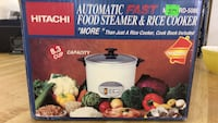 8.3 cup Automatic Food Steamer & rice Cooker  Rayne, 70578