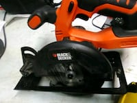red and black Black & Decker corded power tool Evansville, 47711