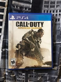 Call of duty advanced warfare ps4 game Palm Harbor, 34685
