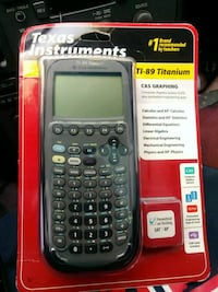 black Texas Instruments TI-84 Plus CE Cypress