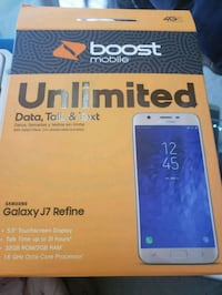 Samsung j7 REFINE boostmobile plus month service Hyattsville, 20783