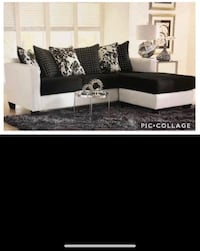 Two-Tone Sectional On Sale @ Alex Furniture New York, 11432