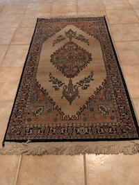 brown and black floral area rug Corpus Christi, 78415