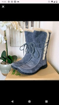 Earth Origins cafe style waterproof suede boots  Alexandria, 22304