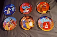DISNEYS ALADDIN Plate Set LIMITED EDITION Richmond, V7E 4L1