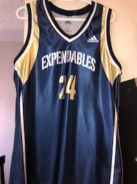 blue and yellow Adidas jersey shirt Edmonton, T5J 4X1