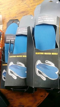 Battery operated heated insoles Diana, 75640