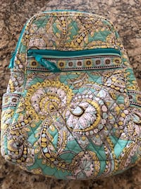 blue, white, and yellow floral Vera Bradley bag Marshall, 75672