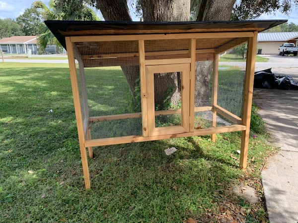 Large pen/cage for backyard animals