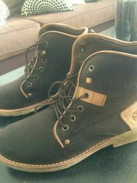 Marfill Leather Work Boots (New Size 7)