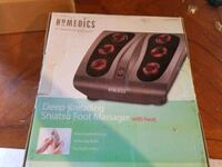 Homedics Deep kneading shiatsu foot massager+heat Central Lake, 49622