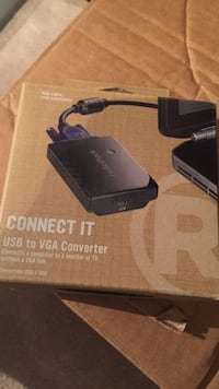 USB to VGA converter for pc North Vancouver, V7K 1M7