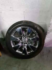 Buick Lacrosse Wheels 18 inch with Good Tire Tread