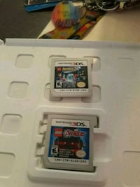 3ds Marvel and DC combo