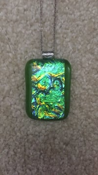Beautiful Dichroic Glass Necklace  Springfield, 22151