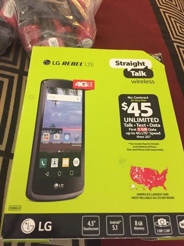 Straight talk LG phone unlocked