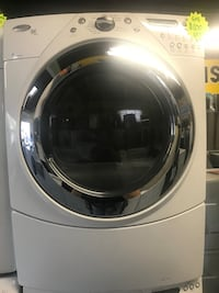 white front-load clothes washer Santa Ana, 92701