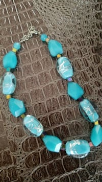 High end blue stone necklace Montreal