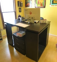Desk from West Elm