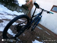 mountain bike full suspension nera e blu Milan, 20158