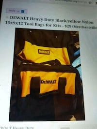 Dewalt tool bag s kit (2) Merchantville, 08109