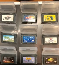 GBA (game boy advance) games for sale $5 ea or all 9 for $35 Edmonton, T5B 0E4