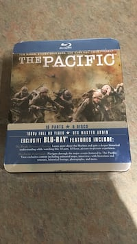 The pacific blu ray. Unopened