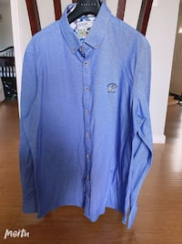 beverly hills polo club Men's shirt blue long sleeve size 3xl/56 Milpitas